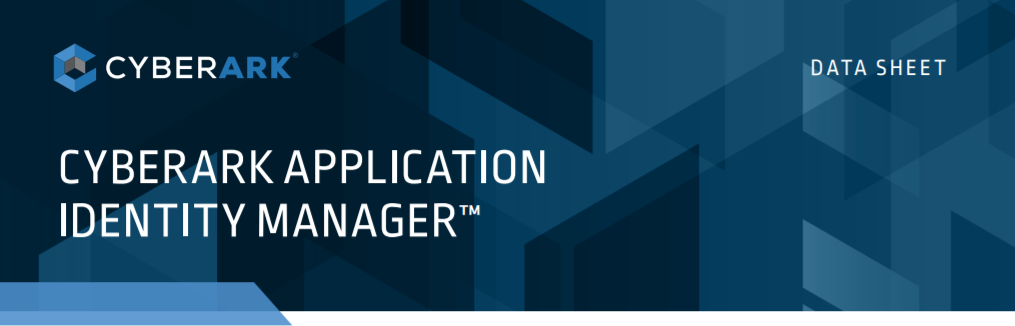 APPLICATION IDENTITY MANAGER