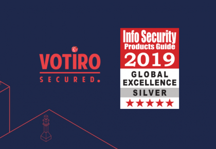 보티로(Votiro), 2019 Info Security PG's Global Excellence Awards 수상