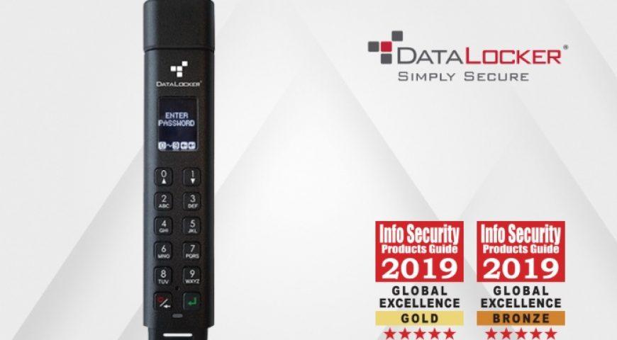 데이터로커, 암호화 보안 USB 'Sentry K300' 올해의 가장 혁신적인 보안 제품 선정.. ISPG 글로벌 어워드 2019 최우수상 수상