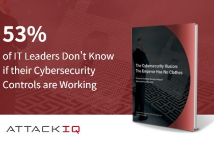 "AttackIQ ""53%의 기업이 연간 평균 1,840만 달러의 지출에도 불구하고 사이버 보안 도구가 작동하는지 알지 못해.."""