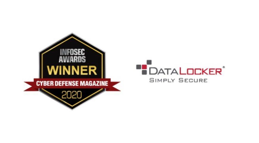 데이터로커(DataLocker), RSA 2020서 인포섹 어워드 수상.. 최첨단 암호화 기술 & 엔드포인트 보안 기업 선정