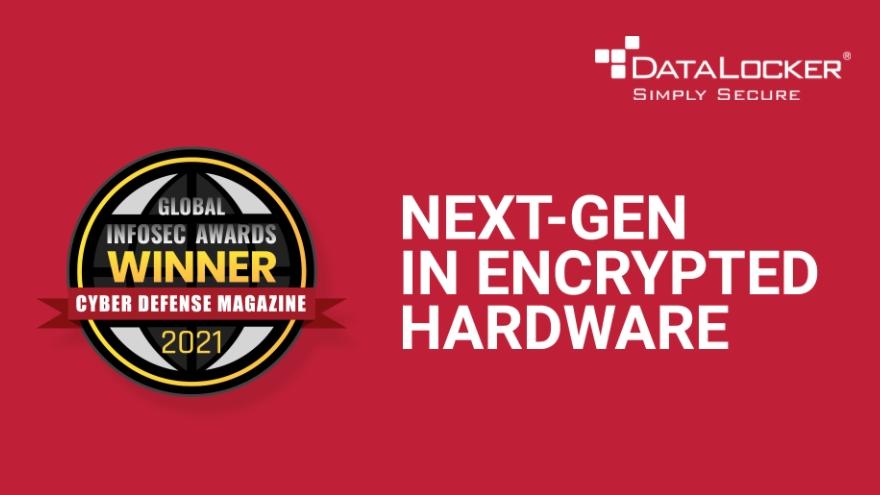 데이터로커(DataLocker), RSA 2021 인포섹 어워드 '차세대 암호화 하드웨어' 수상